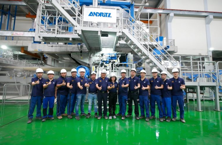 ANDRITZ Successfully Starts up Tissue Production Line Delivered to Xuan Mai Paper