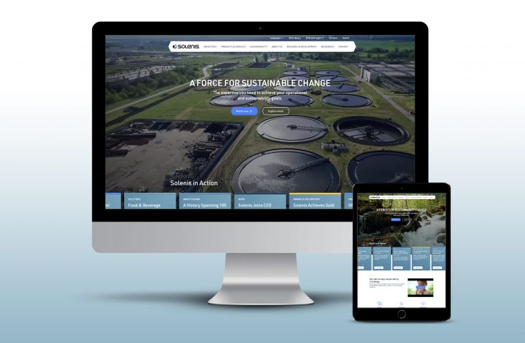 Solenis' Newly Redesigned Website Features Sustainability Solutions for Water-Intensive Industries